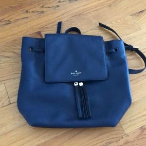 Navy blue Kate spade backpack